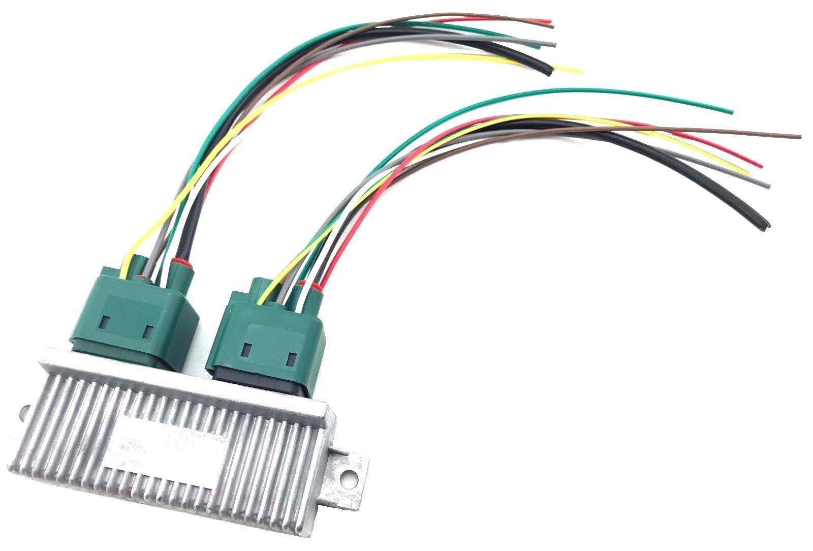 Ford F250 F350 F450 F550 Diesel Glow Plug Control Module GPCM Connector Harness