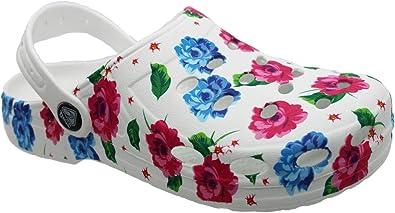 Eva Clogs 546504 - Chanclas de Mujer para el jardín, para el Tiempo Libre, cómodas Correas para el talón, Talla 36-41: Amazon.es: Zapatos y complementos