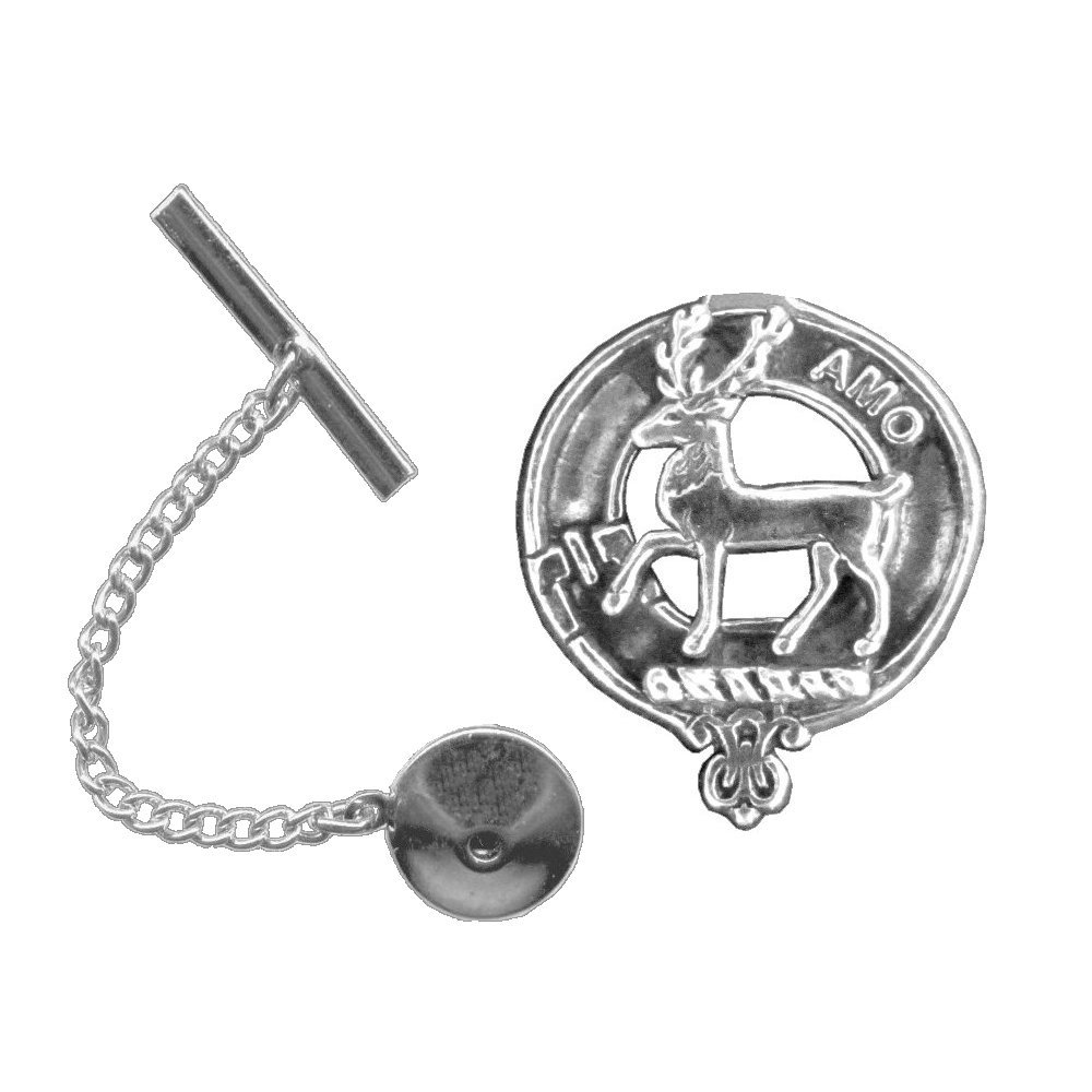 Scott Scottish Clan Crest Tie Tack / Lapel Pin