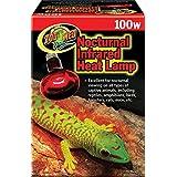 Zoo Med Red Infrared Heat Lamp, 100-Watt