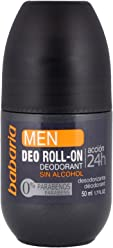Babaria Mens Roll on Deodorant 50ml by Babaria