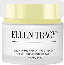 Ellen Tracy Nighttime Hydrating Cream for Face and Neck, Anti-Aging Face Cream for