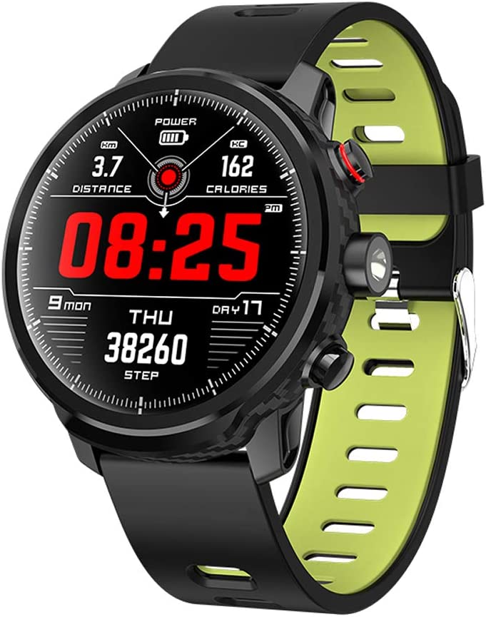 BAIYI Smart Watch IP68 Waterproof Heart Rate Monitor Fitness Tracker Wristband Bluetooth Wristwatch Smart Band Sport Smartwatch,Green 61duJGHRoWL