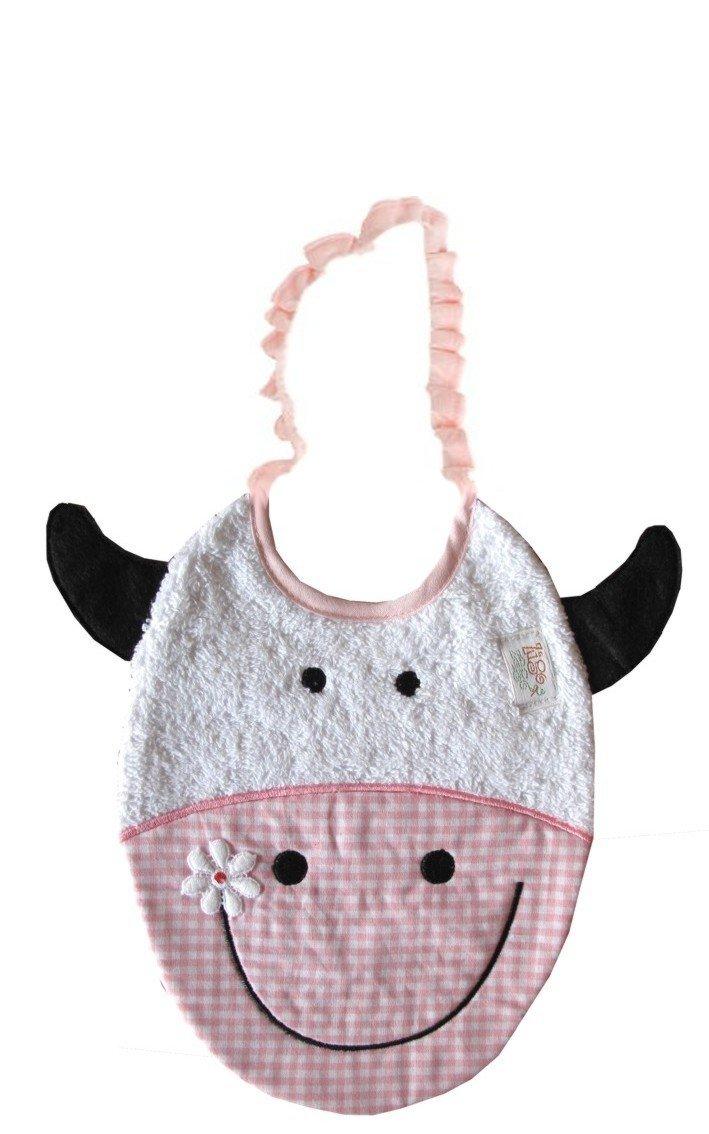 Zigozago - Bib COW; Tie: Elastic; One Size; Color: Pink