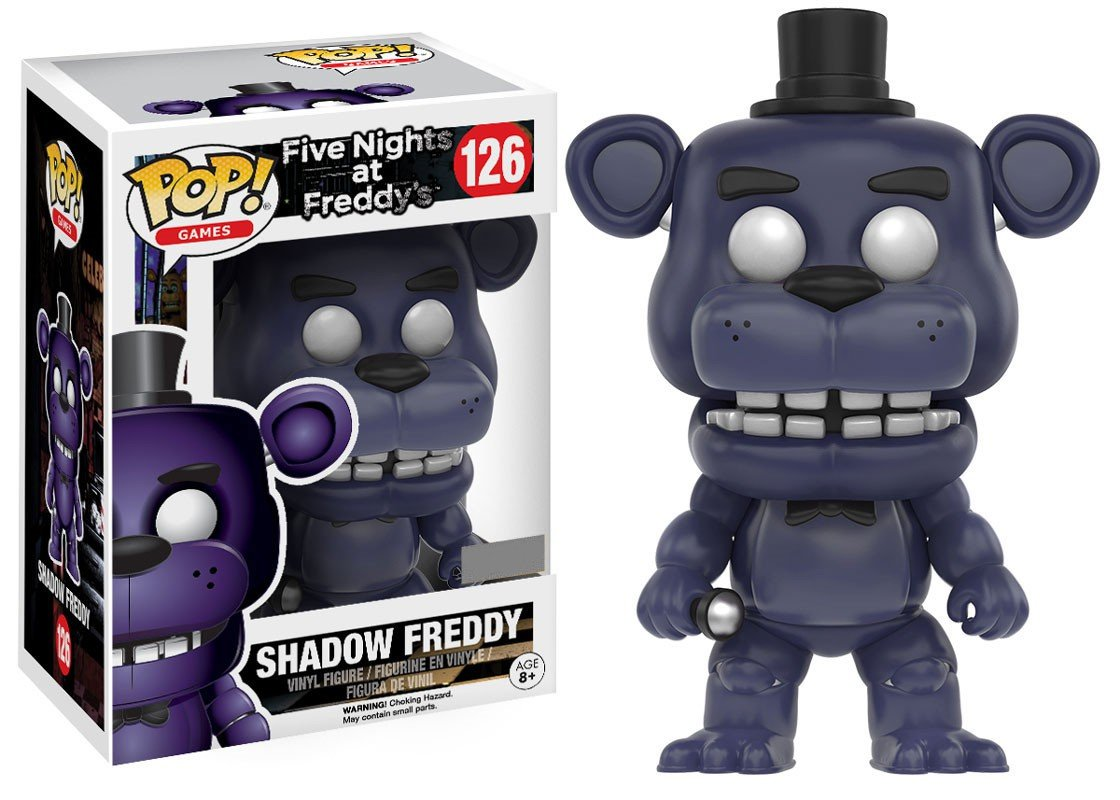 Funko Pop Five Nights at Freddys Shadow Freddy Exclusive Vinyl Figure #126