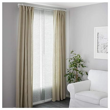 Ikea Vidga asta per tenda supporto bianco: Amazon.it: Casa e ...
