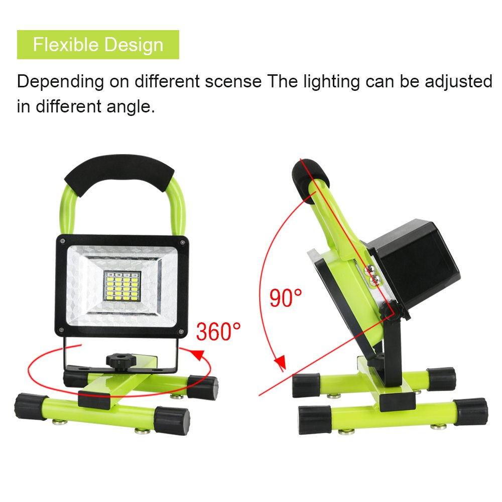 120 Led Cordless Work Light Home Garage Emergency Portable: Work Light, Led Work Light With Magnetic Stand BESWILL