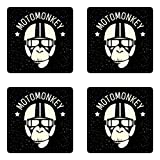 Ambesonne Outer Space Coaster Set of Four, Sign