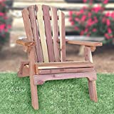 AmeriHome Hand-Made Amish Folding Adirondack Chair