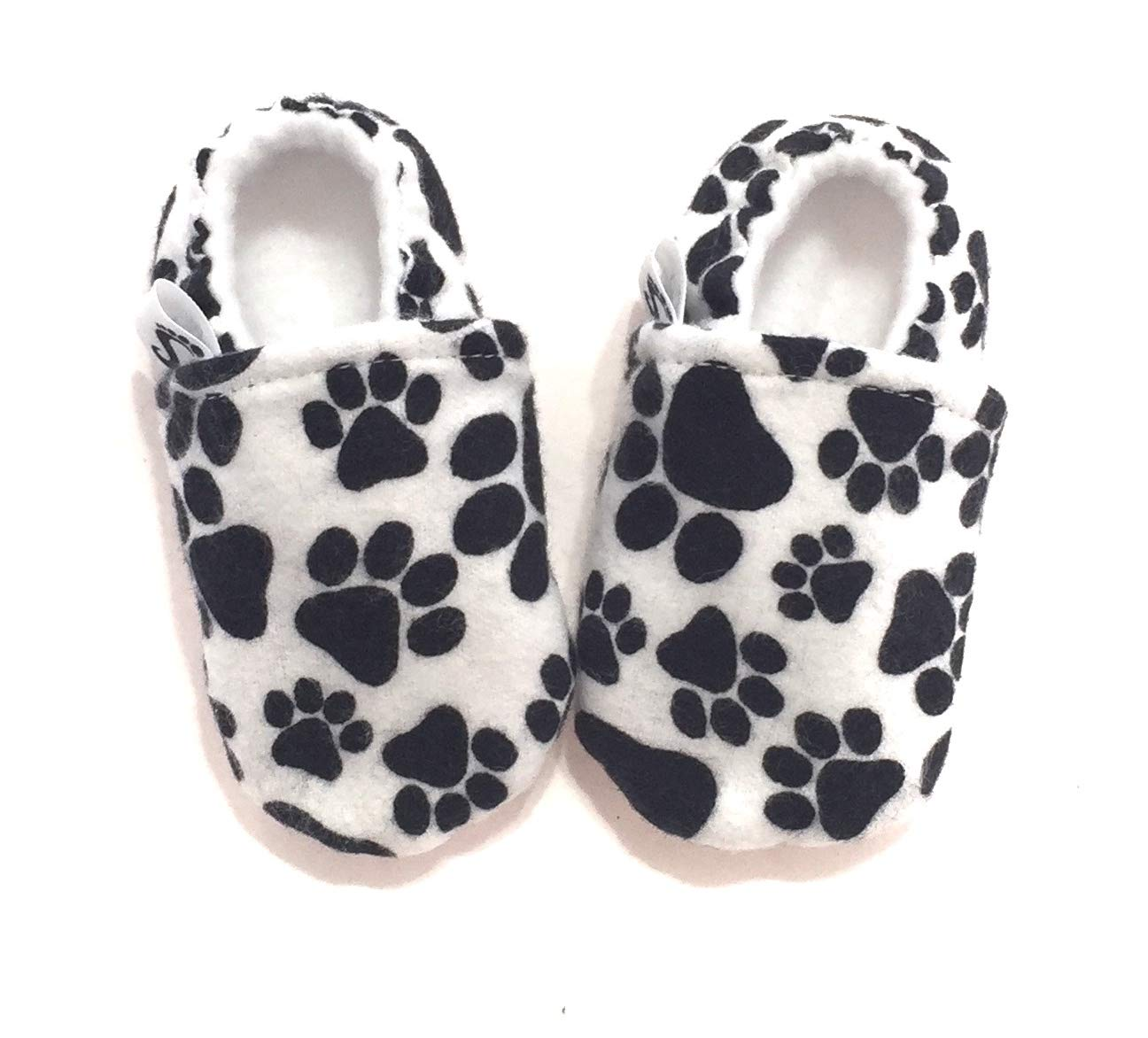 ec65ba7188974 Amazon.com: Pawprint Baby Shoes, Dog Baby Shoes, Cat Baby Shoes ...