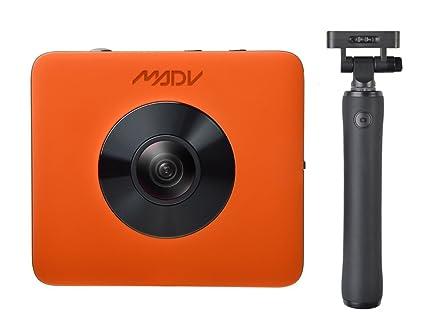 Amazon com : MADV XiaoMi Madventure 360 Camera, 4K Video, 24MP Photo
