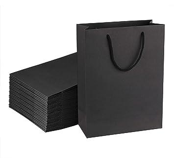 Amazon.com: Sdootjewelry - Bolsas de regalo de papel kraft ...