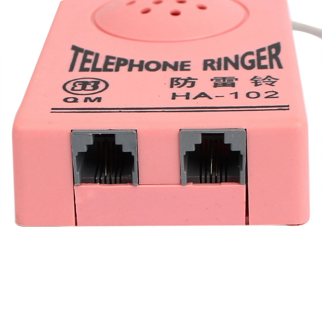 Uxcell Rj11 6p2c Socket Cable Loud Ring Sound Amplifier Telephone Ringer Circuit Pink Home Kitchen