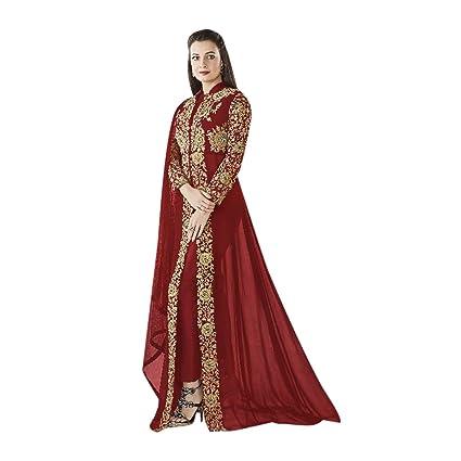 Vestido de novia hindú, de moda lista para llevar en talla europea 32 a 44