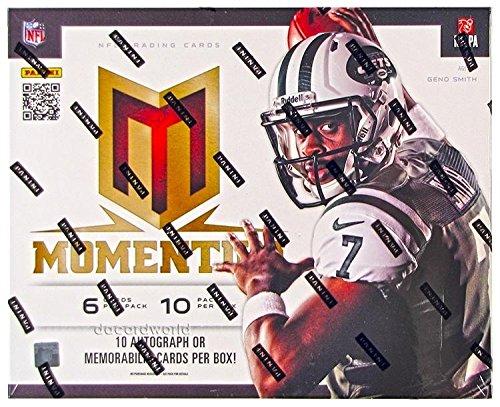 2013 Panini Momentum Football box (10 pk - Panini Cards Sports