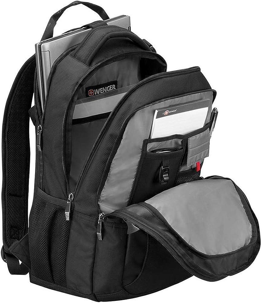 Swissgear 16 Sidebar Computer Backpack with Tablet//eReader Pocket