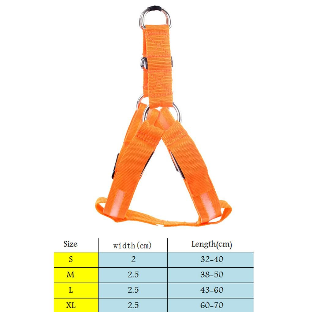 KOROWA - Arnés LED para Perro, Ajustable, para el Pecho, cinturón ...
