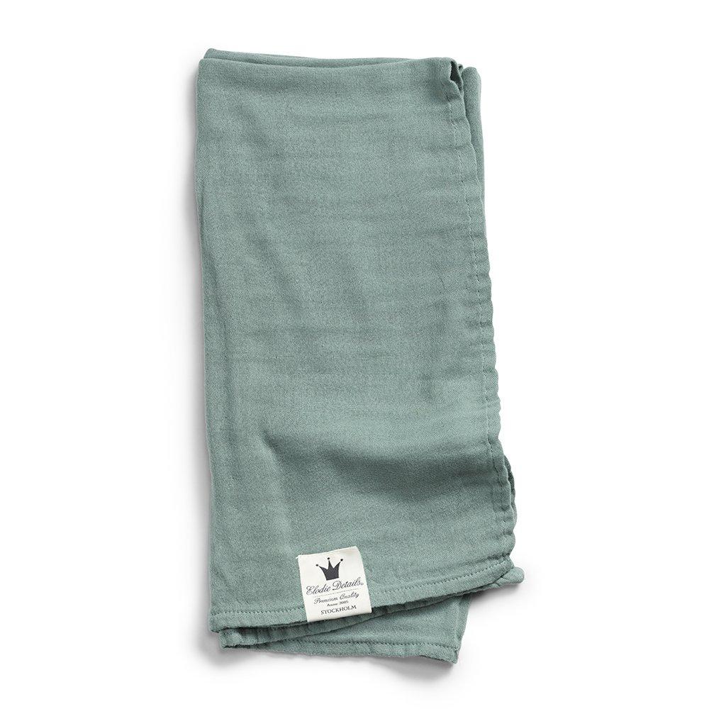 Elodie Details Bambus-Musselin-Decke, Mineral Green