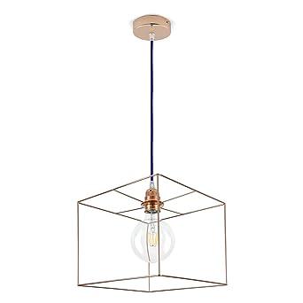 Lampe Fahrwerksfeder Lampenschirm Wurfel Draht Spule Wahlen Sie