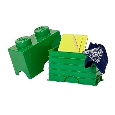Lego L4002R - Bloque de lego 2, color verde: Juguetes y juegos
