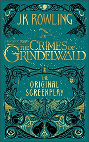 Image result for crimes of grindelwald book cover