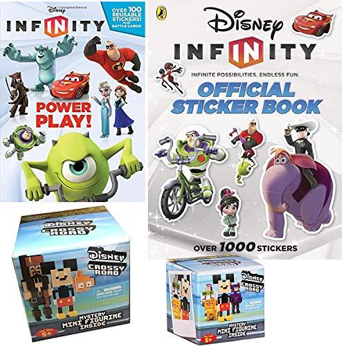 Crossy Road Disney Pixel Figure Pack Amp Infinity Sticker