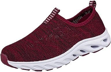 Darringls Zapatos de Deporte, Zapatos Deporte Mujer Zapatillas Deportivas Correr Gimnasio Casual Zapatos para Caminar Mesh Running Transpirable Aumentar Más Altos Sneakers 36-41: Amazon.es: Ropa y accesorios