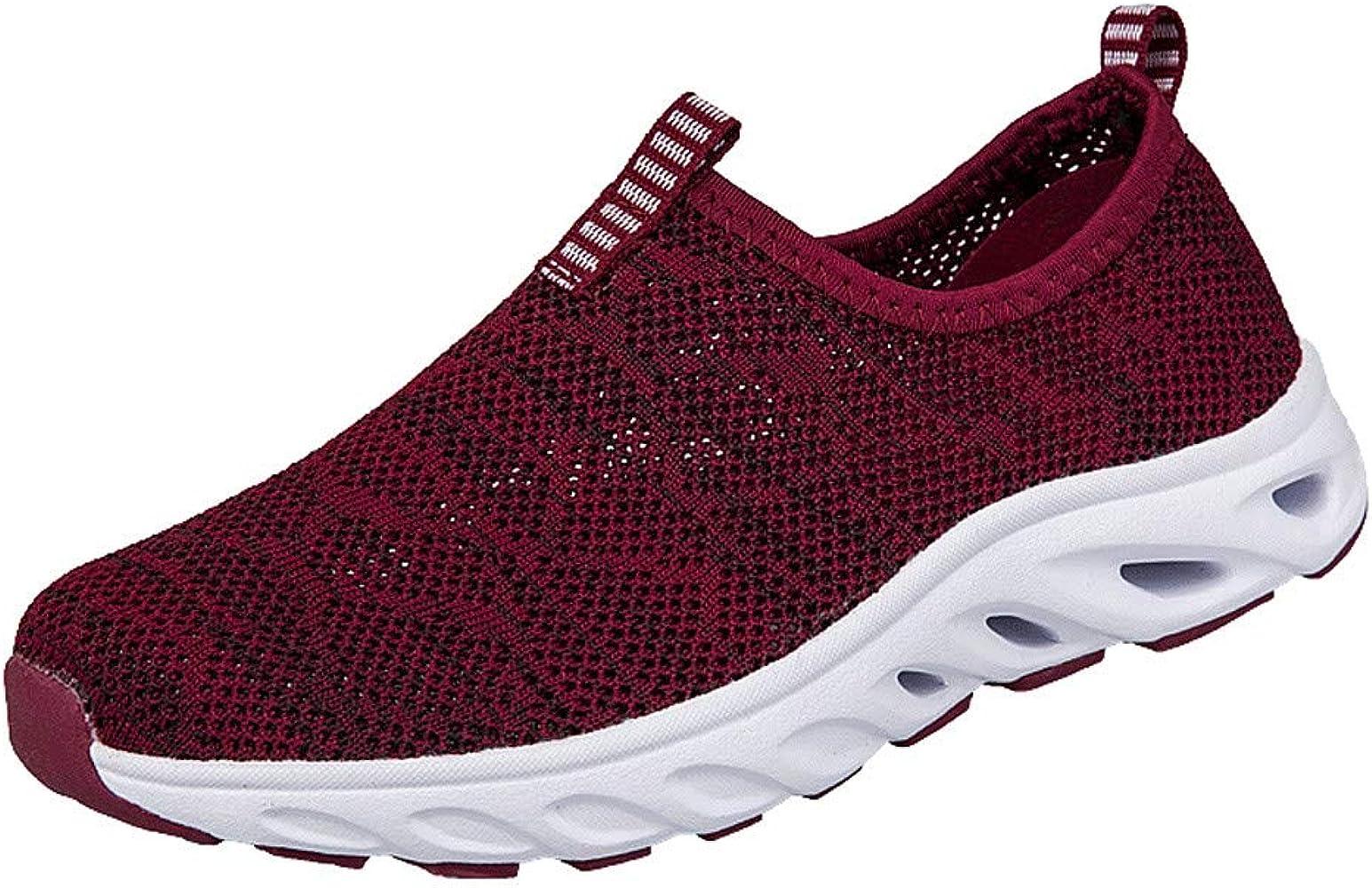 YUTING Zapatos Deporte Mujer Zapatillas Deportivas Correr Gimnasio Casual Zapatos para Caminar Mesh Running Transpirable Aumentar Más Altos Sneakers: Amazon.es: Ropa y accesorios