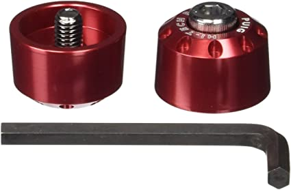PUIG Contrepoids courts en aluminium pour guidon 20mm
