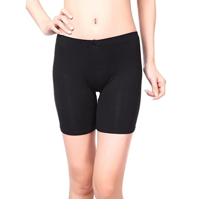 2ee101479f0b1 E-369 STORE Women's Elastic Safety Lace Pants Leggings Render Active Under  Shorts (Small