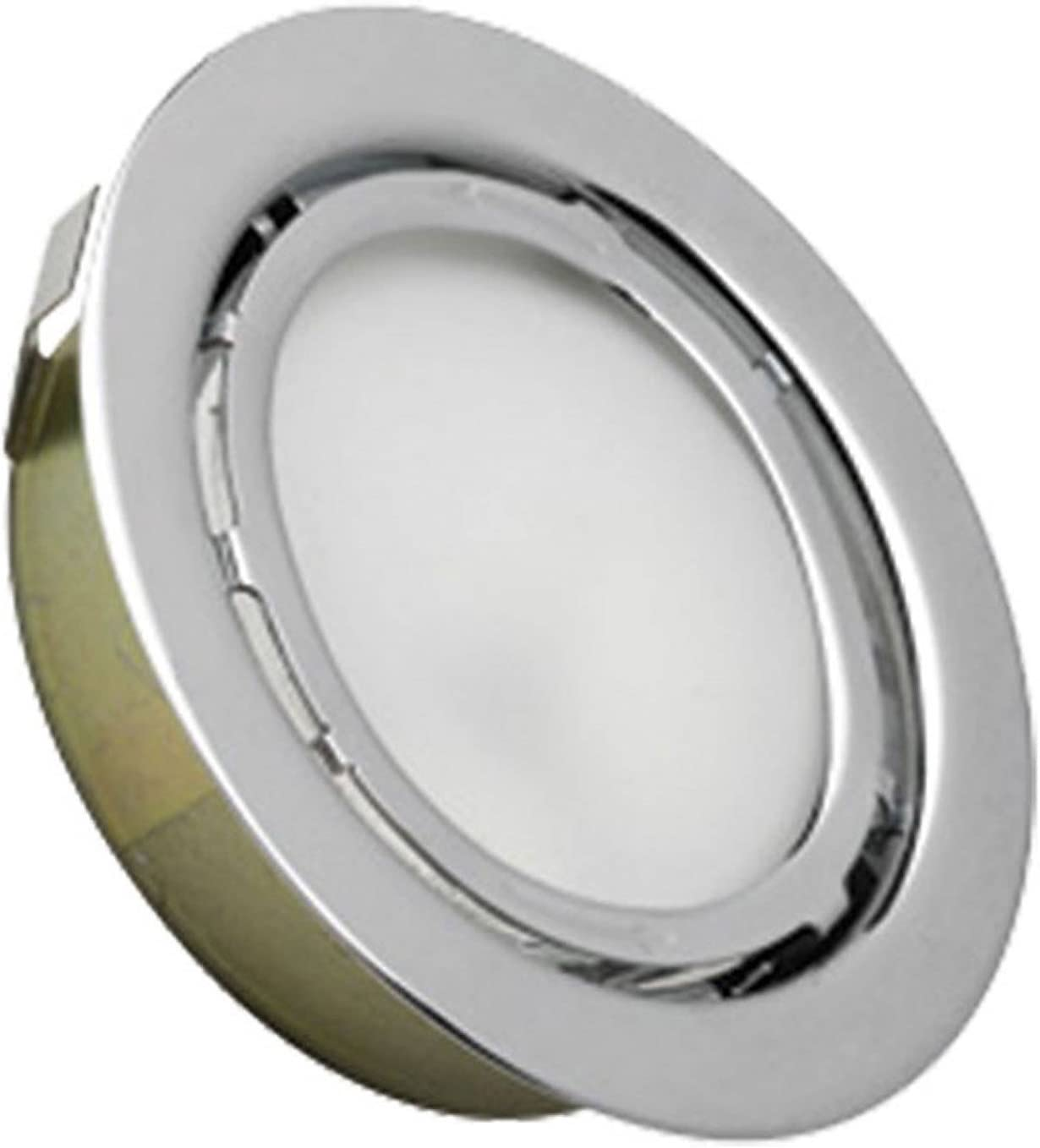 Alico Lighting MZ701-5-15 Flush Mount Light Chrome Finish with Frosted Glass Shades