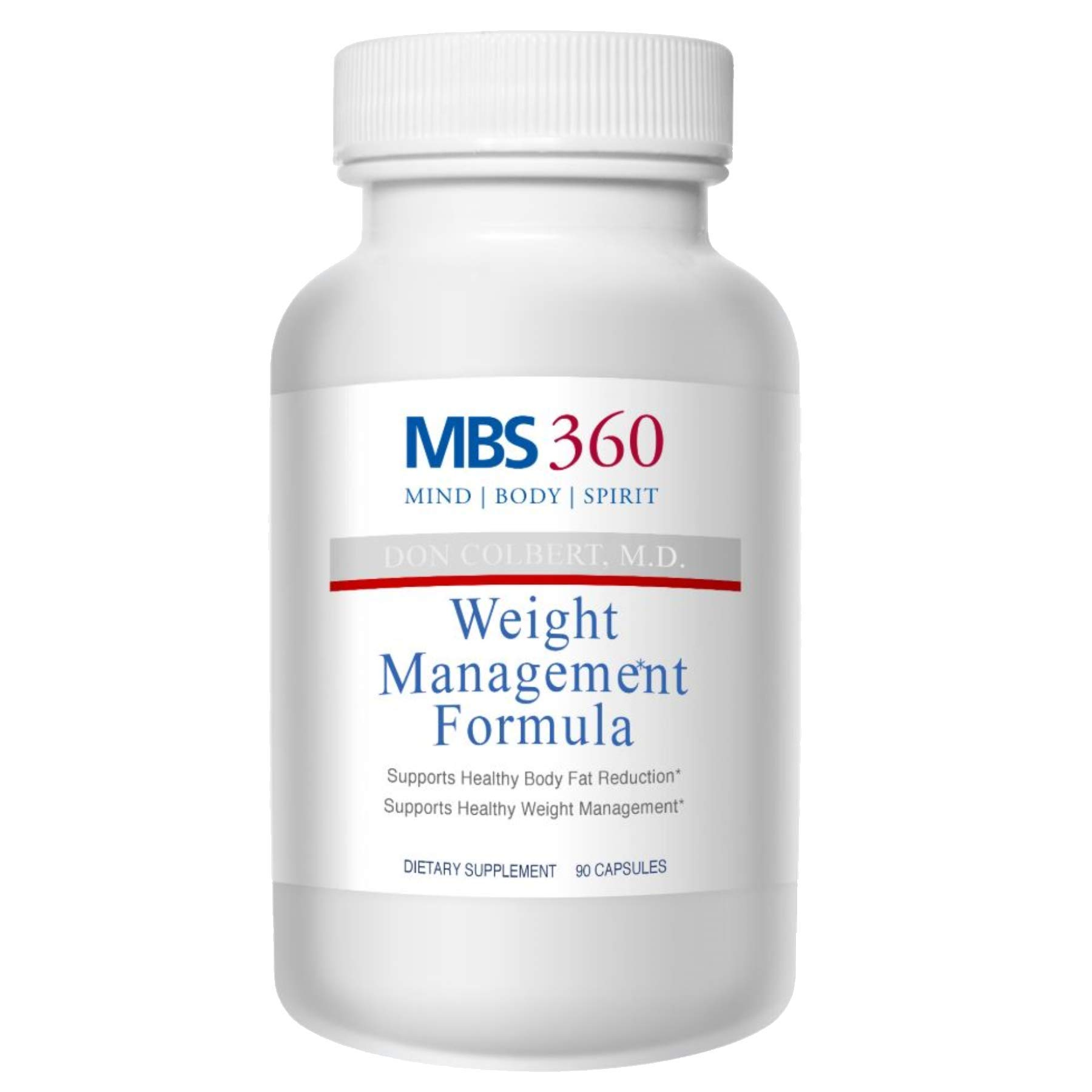 MBS360 Weight Management Formula Scientifically Proven Ingredients- Green Tea Extract + Irvingia Seed Extract ✮ Promotes Body Fat Loss Controls Appetite Boosts Metabolism Leptin Resistance