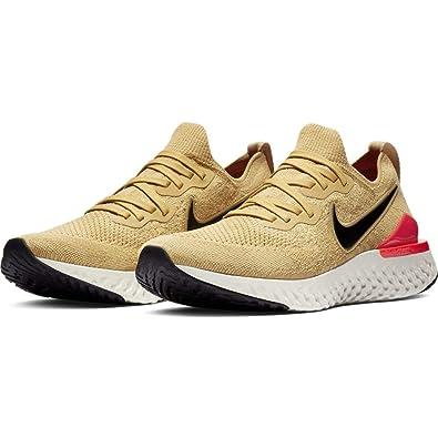 reputable site 1465e 02b8e Amazon.com   Nike Epic React Flyknit 2 Mens Bq8928-700   Road Running