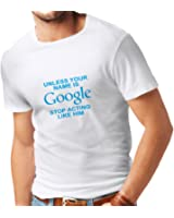N4080 メンズTシャツ I don't need Google, my wife knows everything gift