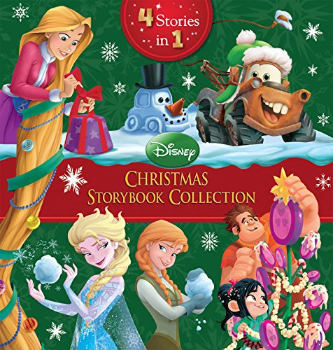 Disney Christmas Storybook Collection: 4 Books in 1! (Disney Storybook (eBook))