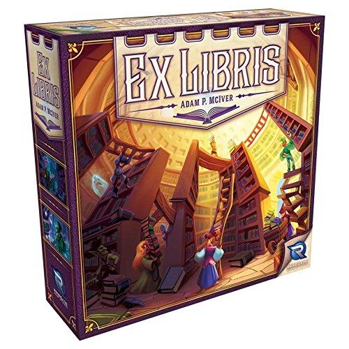Renegade Game Studios Ex Libris Basic Board Game