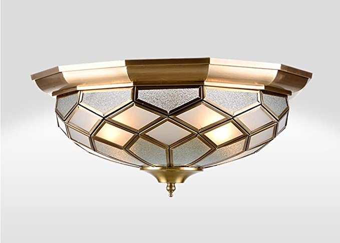 Plafoniere Da Esterno In Rame : Zhdc plafoniera in rame integrale illuminazione da soffitto