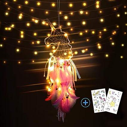 Nice Dream Light Up Unicorn Dream Catchers For Kids Unicorn