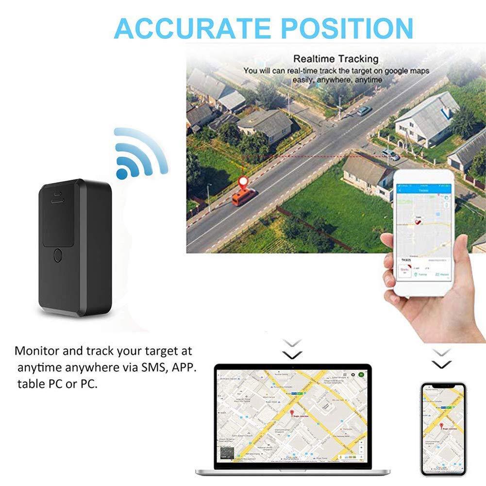 Rastreador de mascotas, Mini Rastreador GPS portátil en tiempo ...