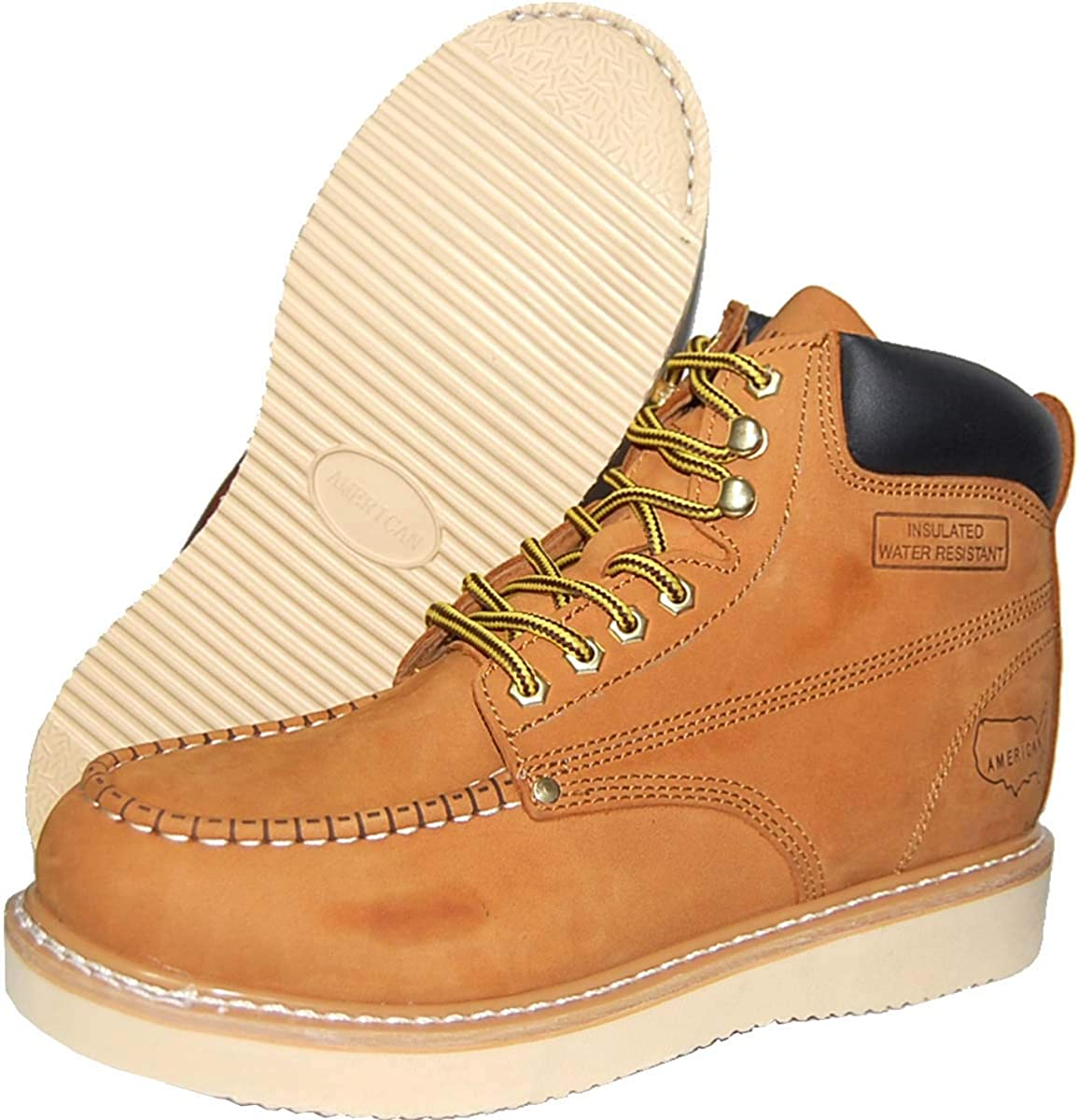 6 inch leather work boots