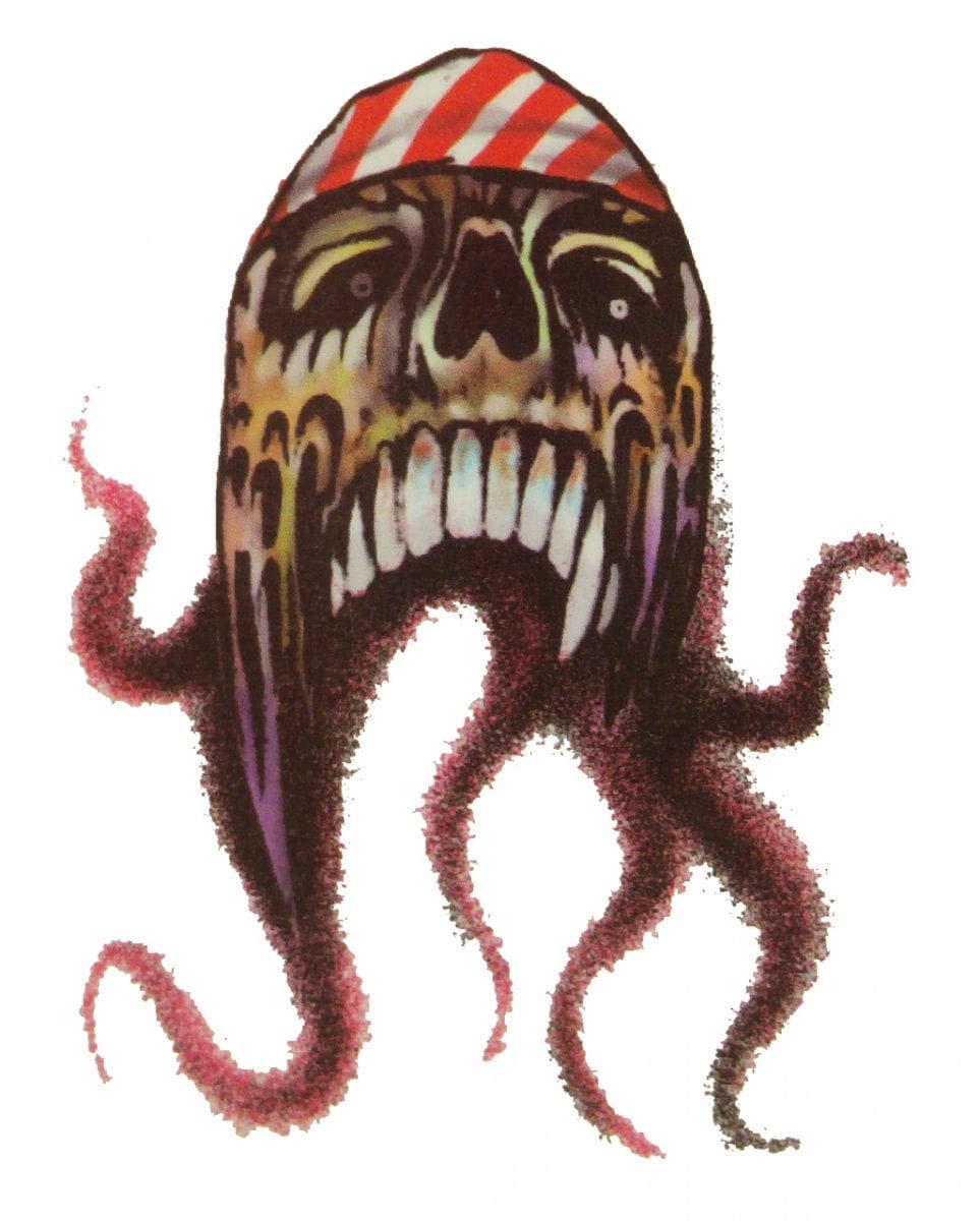 Horror-Shop Pirata del Tatuaje del Pulpo: Amazon.es: Juguetes y juegos