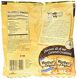 Werther\'s Original Caramel Coffee Hard Candies, 5.5-Ounce Bags (Pack of 12)