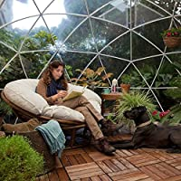 Garden Igloo 360 - Cubierta de cúpula de PVC con cubierta impermeable: Amazon.es: Hogar