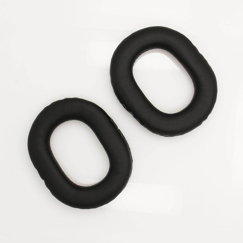 ShineCozy Almohadillas Premium para Aud/ífonos Almohadillas de prote/ína de Cuero para Auriculares Piezas de Repuesto para reparaci/ón por Grado SR60//SR80//SR125//SR225// M1//M2 80MM