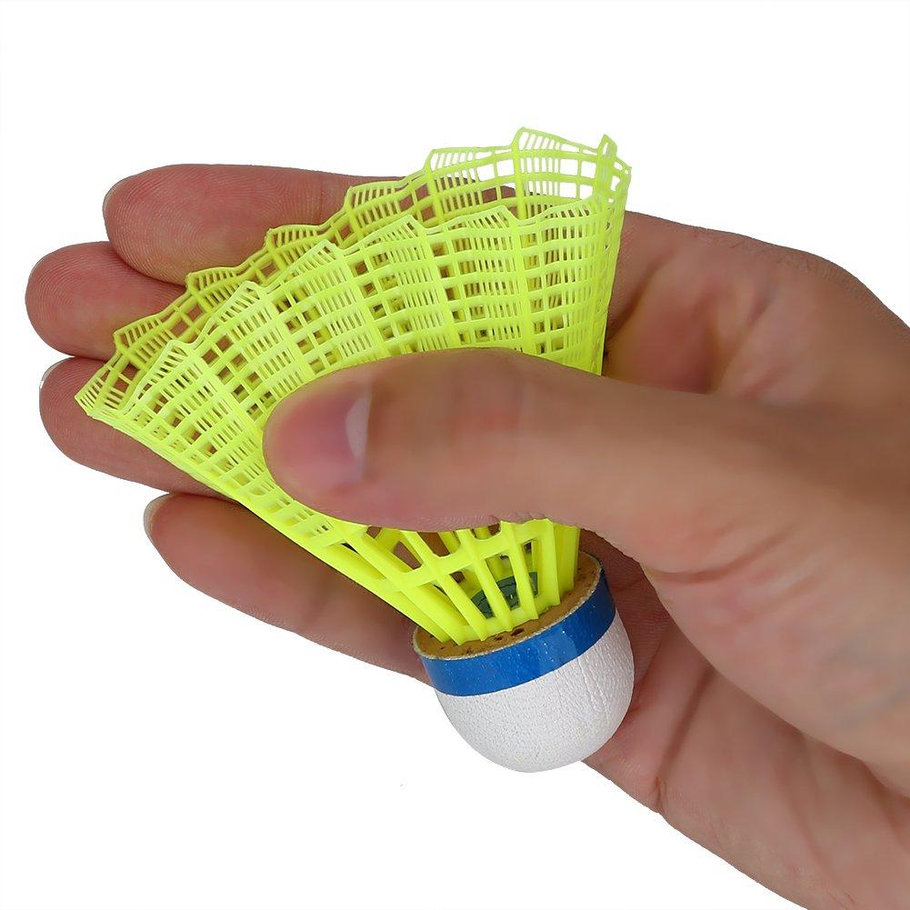 6Pcs//Set Badminton Shuttlecock Nylon Shuttle Cocks Shuttlecocks Professional Badminton Ball