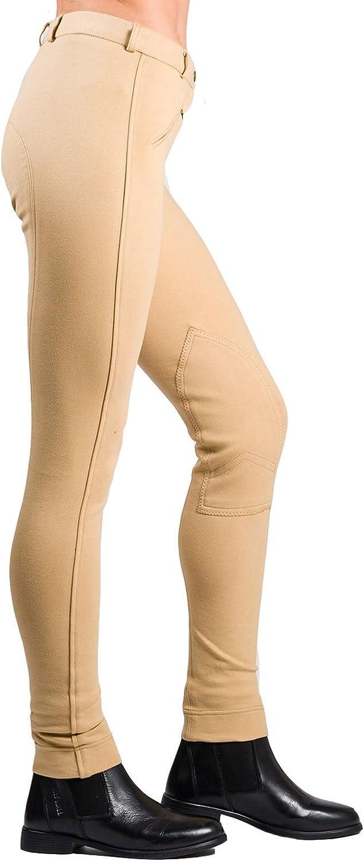 Jodphurs de lujo de equitaci/ón para mujeres Pantalones de montar Joy Rider