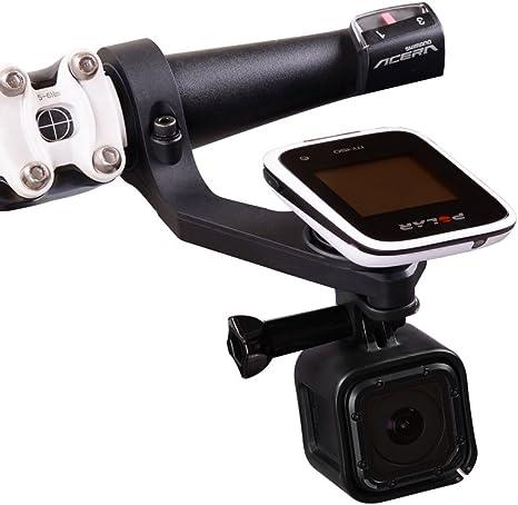 GPS Delante Bike Mount por holaca, juego de soportes (31,8/25,4 mm ...