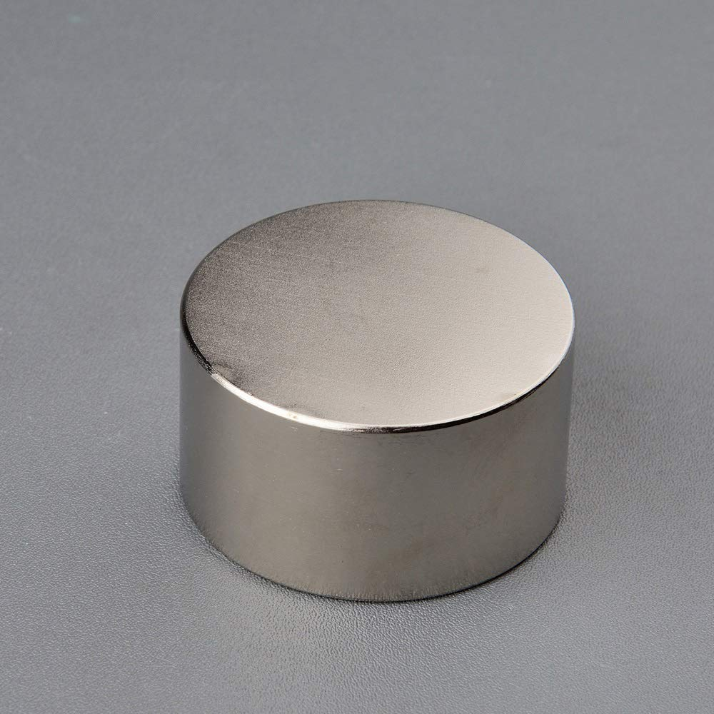 Silver - 2PCS Super Powerful Neodymium Disc Magnet D4525mm Strong Pull-Force Rare Earth Slow Down Gas Meter Water Meter