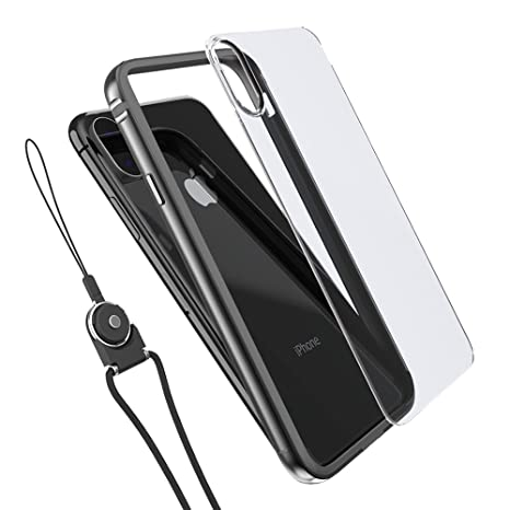 custodia iphone x alluminio