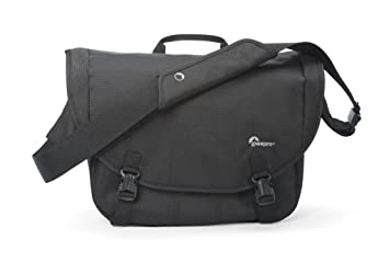 Lowepro Borsa per Fotocamera Passport Messenger, Nero